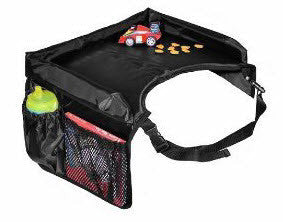 Snack & Play Travel Lap Tray, Black