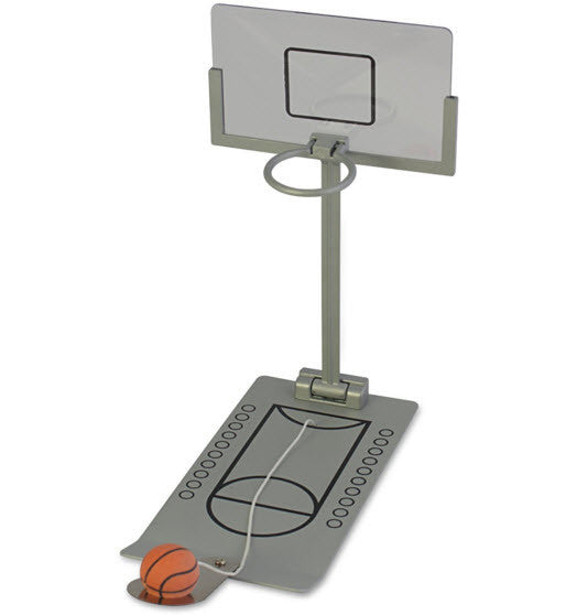 Travel Basketball Shooting Game - With Sturdy Metal Construction