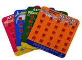 Travel Games-Travel Bingo - Set of 4 Bingo Boards