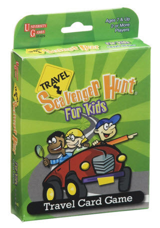 Travel Games-Travel Scavenger Hunt for Kids