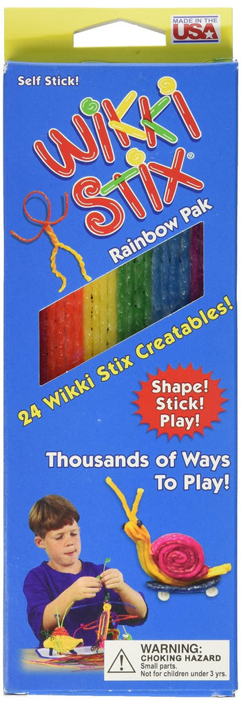 Wikki Stix - Rainbow Pak or Traveler Playset