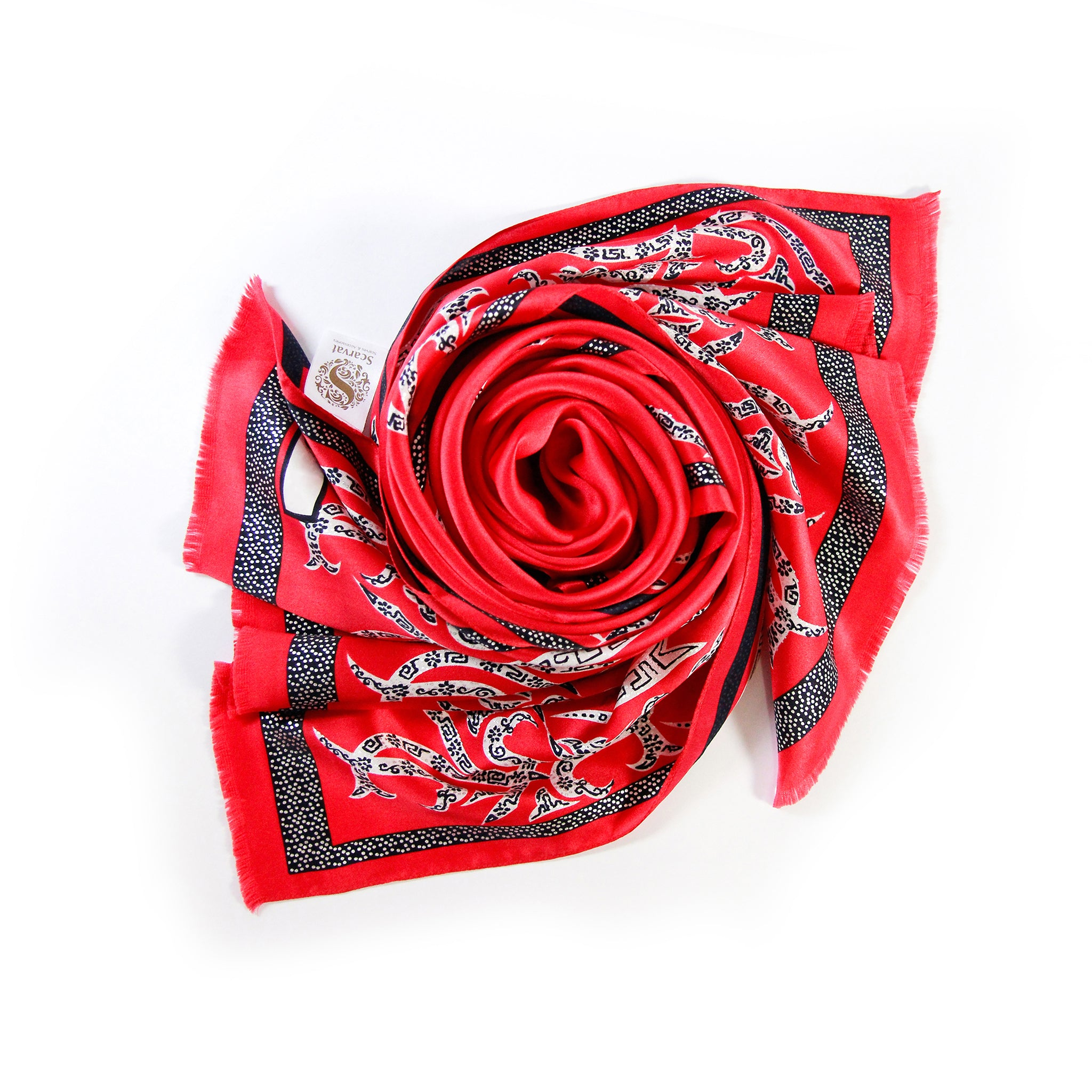 Dragon Silk Scarf