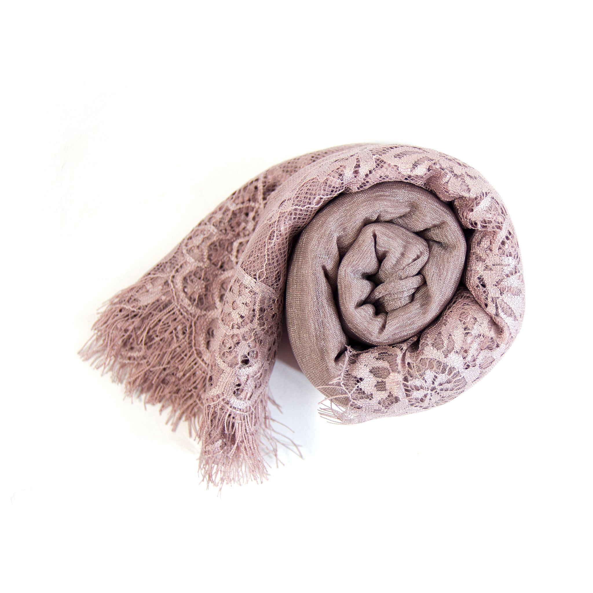 Wrinkle Big Lace Scarf