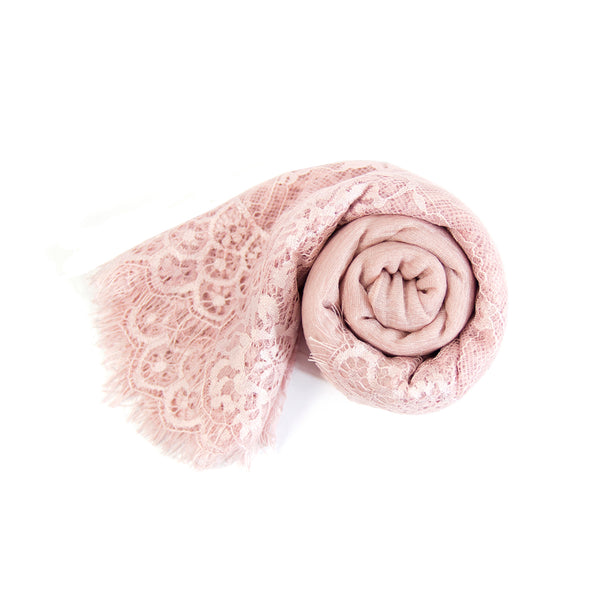 Wrinkle Lace Scarf