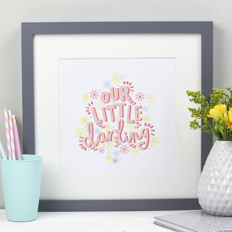Our Little Darling - Baby Print