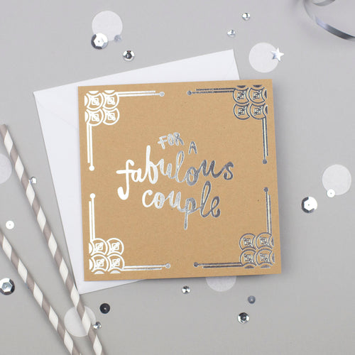 For a Fabulous Couple Card