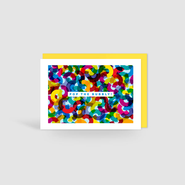Pop The Bubbly! Congratulations Card