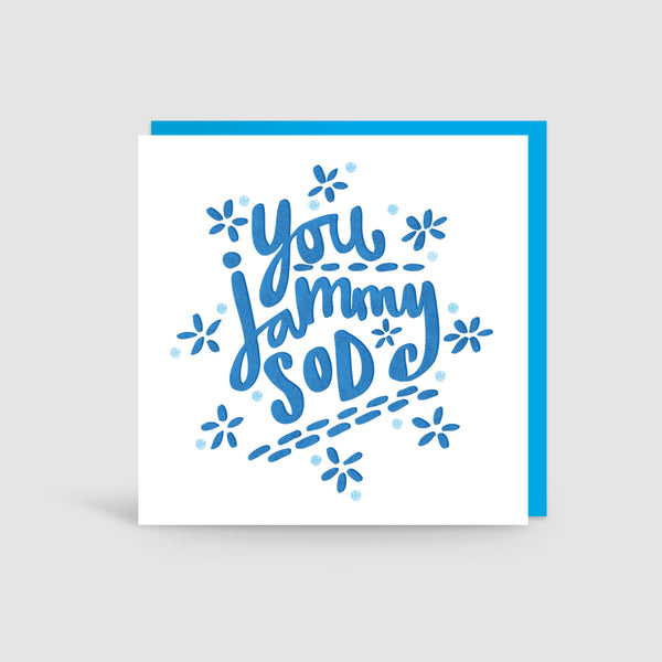 Jammy Sod Yorkshire Card