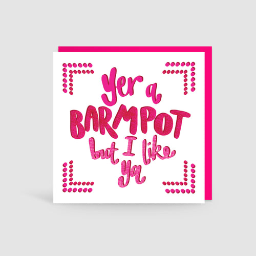 Yer A Barmpot Yorkshire Card