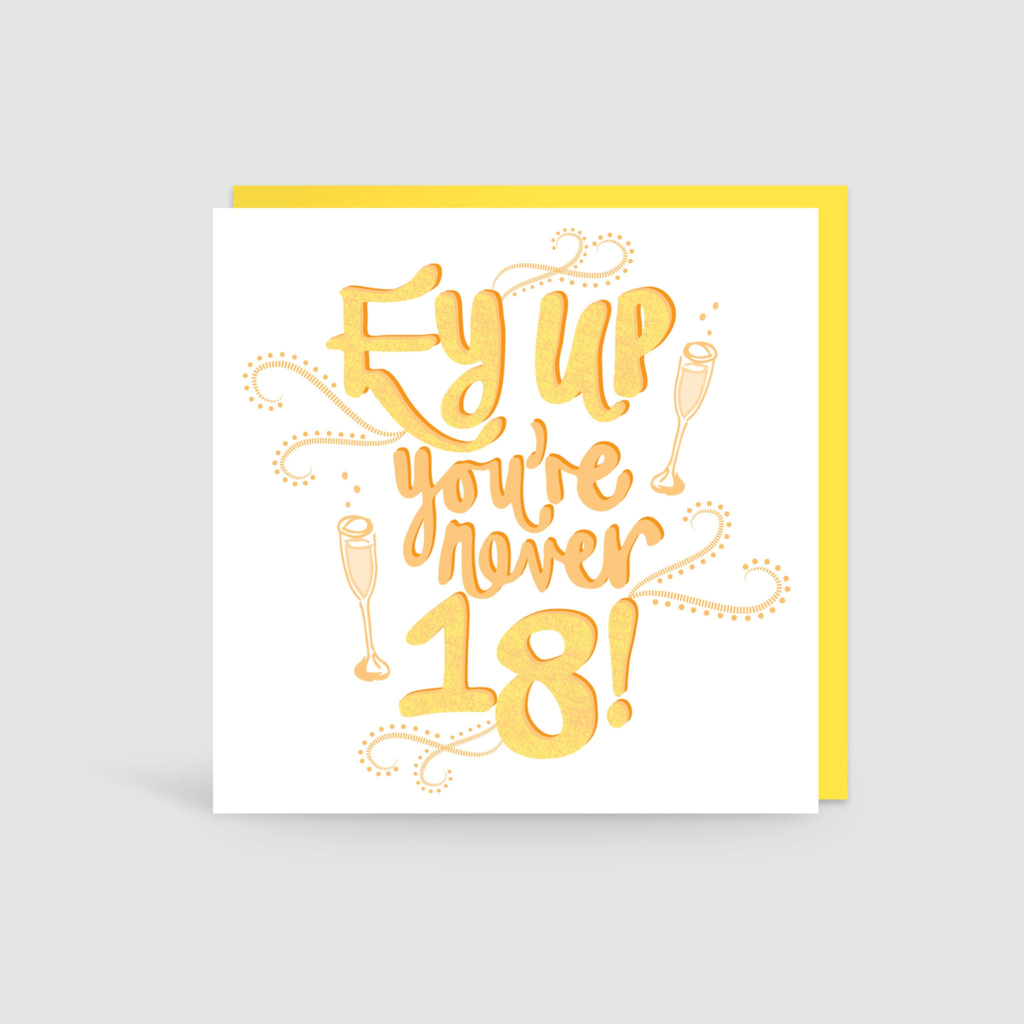18th Birthday Yorkshire Card