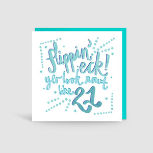 21st Birthday Yorkshire Card