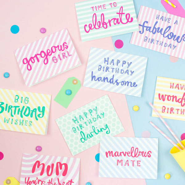 'Happy Birthday Darling' Card