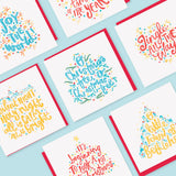 Set of Christmas Carols Cards