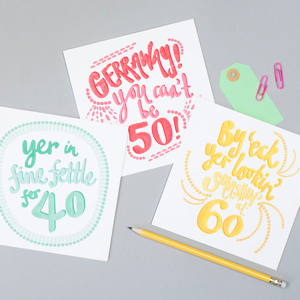 50th Birthday Yorkshire Card