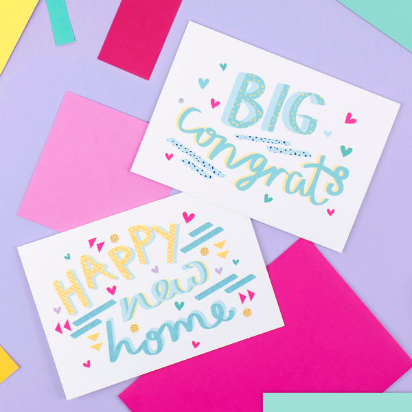 Big Congrats Card