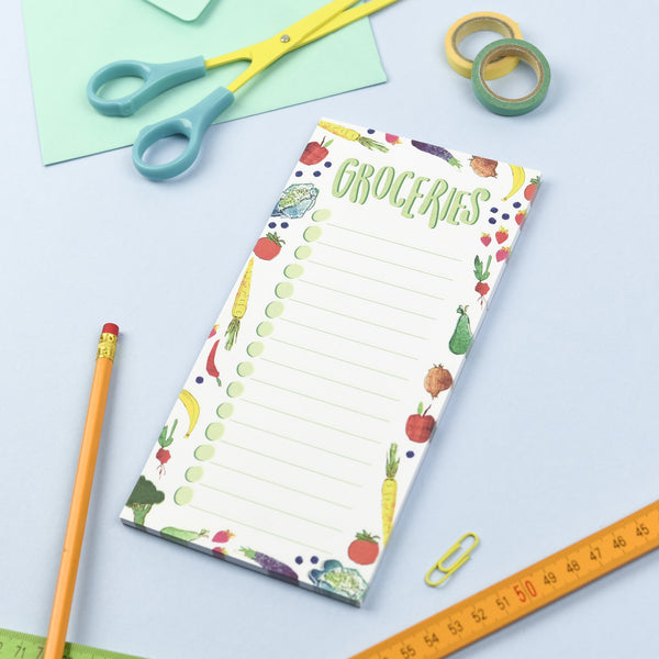Groceries Note Pad