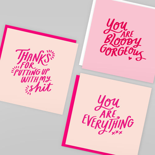 'You Are Bloody Gorgeous' Card