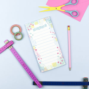 Remember Magnetic List Note Pad