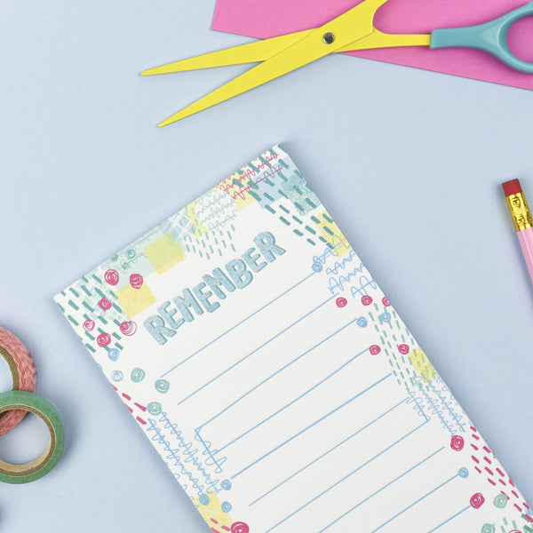 Remember List Note Pad