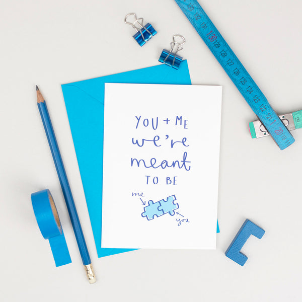 'You & Me, We're Meant to Be' Card