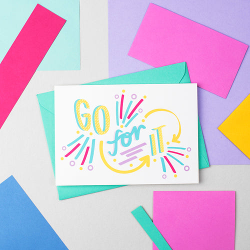 Go for it! Speak Easy Card