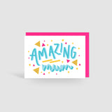 Amazing Mum Card