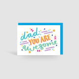 Dad you are awesome! Speak Easy Card
