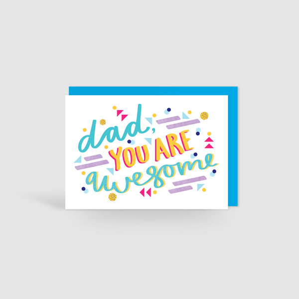 Dad you are awesome! Card