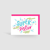 Super Sister! Speak Easy Card