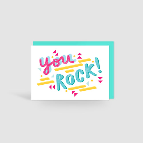 You Rock! Speak Easy Card