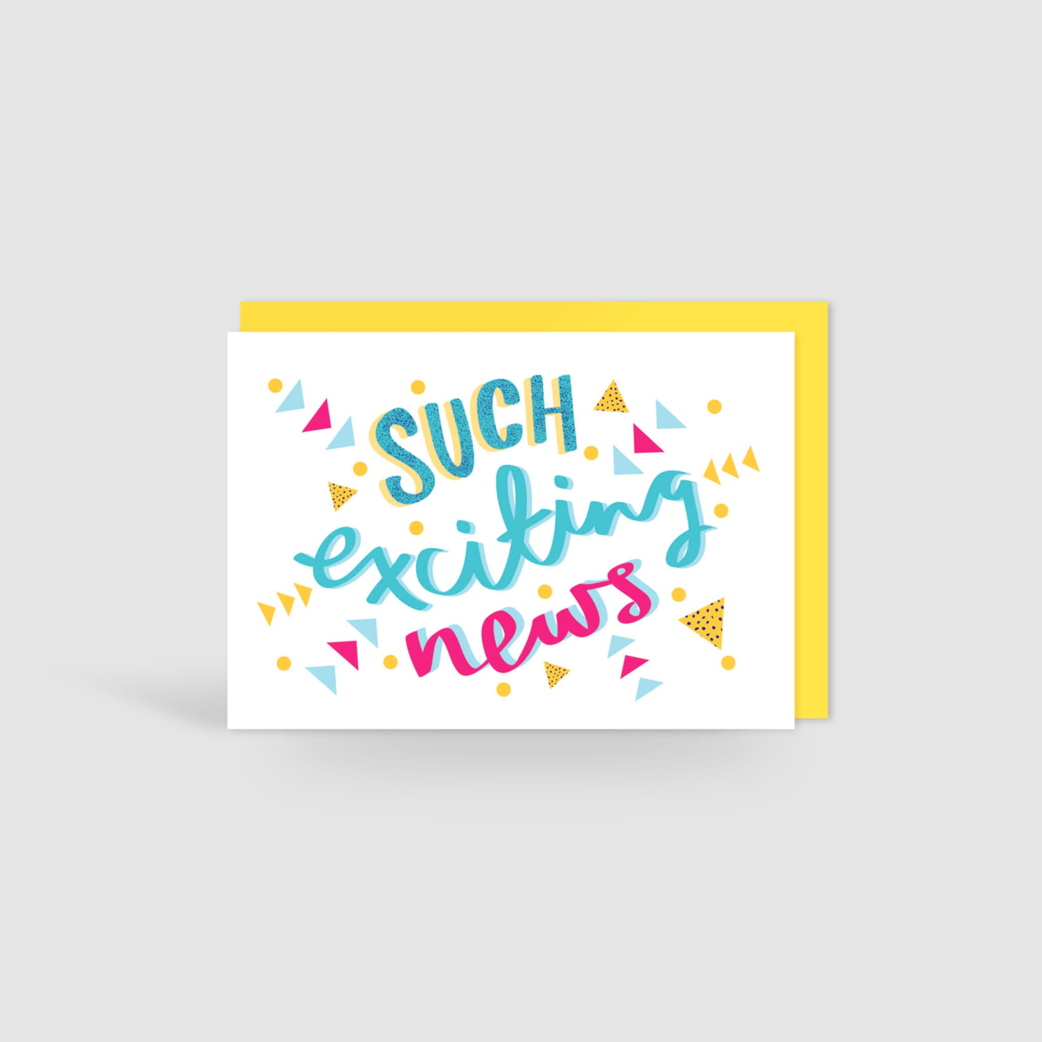 Such Exciting News! Card