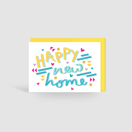 Happy New Home! Speak Easy Card