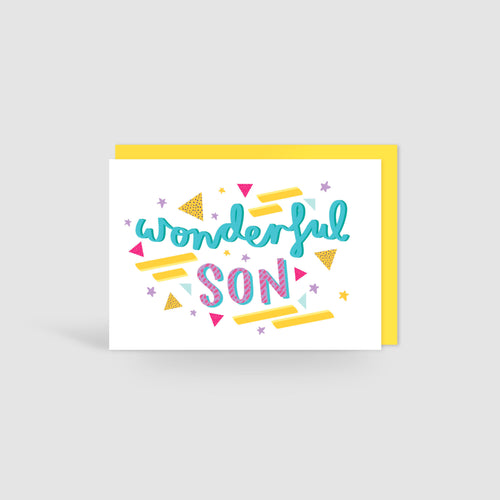 Wonderful Son! Card