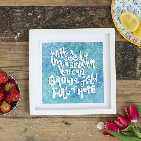 Full of Hope Print