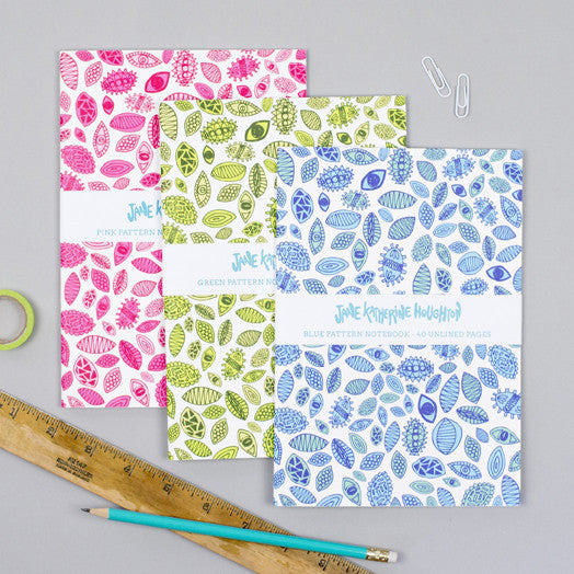 Patterned Notebook
