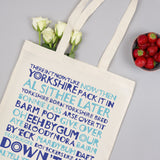 Yorkshire Tote Bag