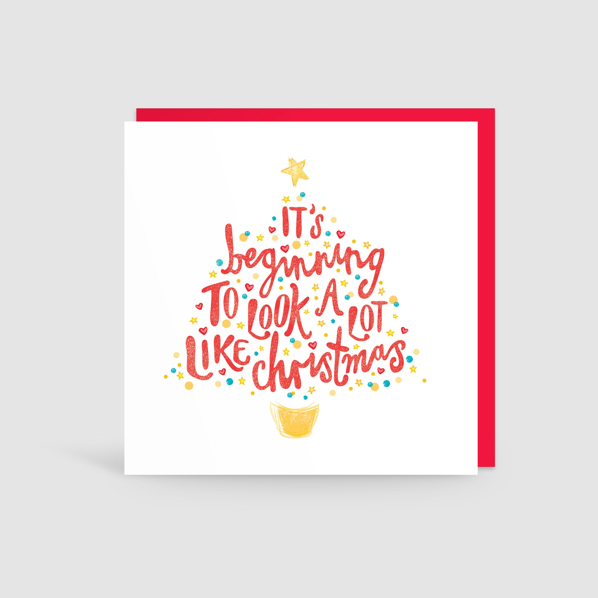 It's Beginning To Look A Lot Like Christmas! Card