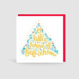 O Little Town of Bethlehem, Christmas Card