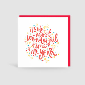 Most Wonderful Time Of The Year! Card