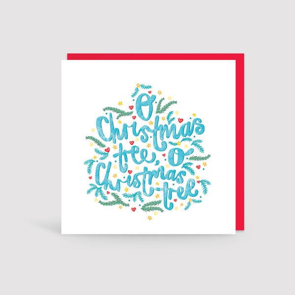 Pack of Christmas Carols Cards