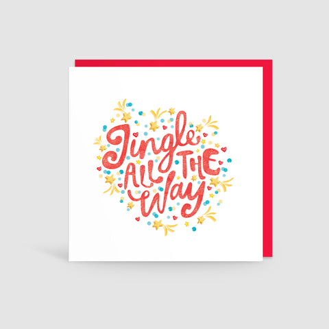 Jingle All The Way! Christmas Card