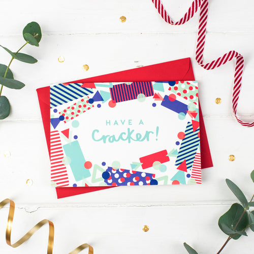 Have a Cracker! Christmas Card