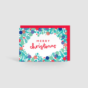 Merry Christmas! Festive Cheer Christmas Card
