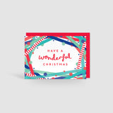 Have a wonderful Christmas! Festive Cheer Card