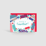 Have a Cracker! Festive Cheer Christmas Card