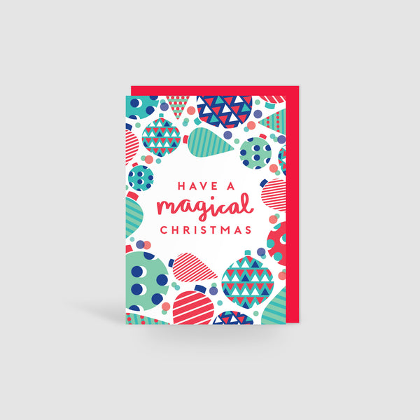 Magical Christmas! Festive Cheer Card