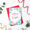 Merry & Bright! Festive Cheer Christmas Card