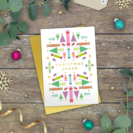 'Tis the Season! Festive Cheer Christmas Card
