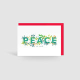 Peace On Earth! Holly Jolly Christmas Card
