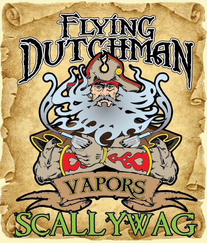 Flying Dutchman Vapors Scallywag Flavor Card